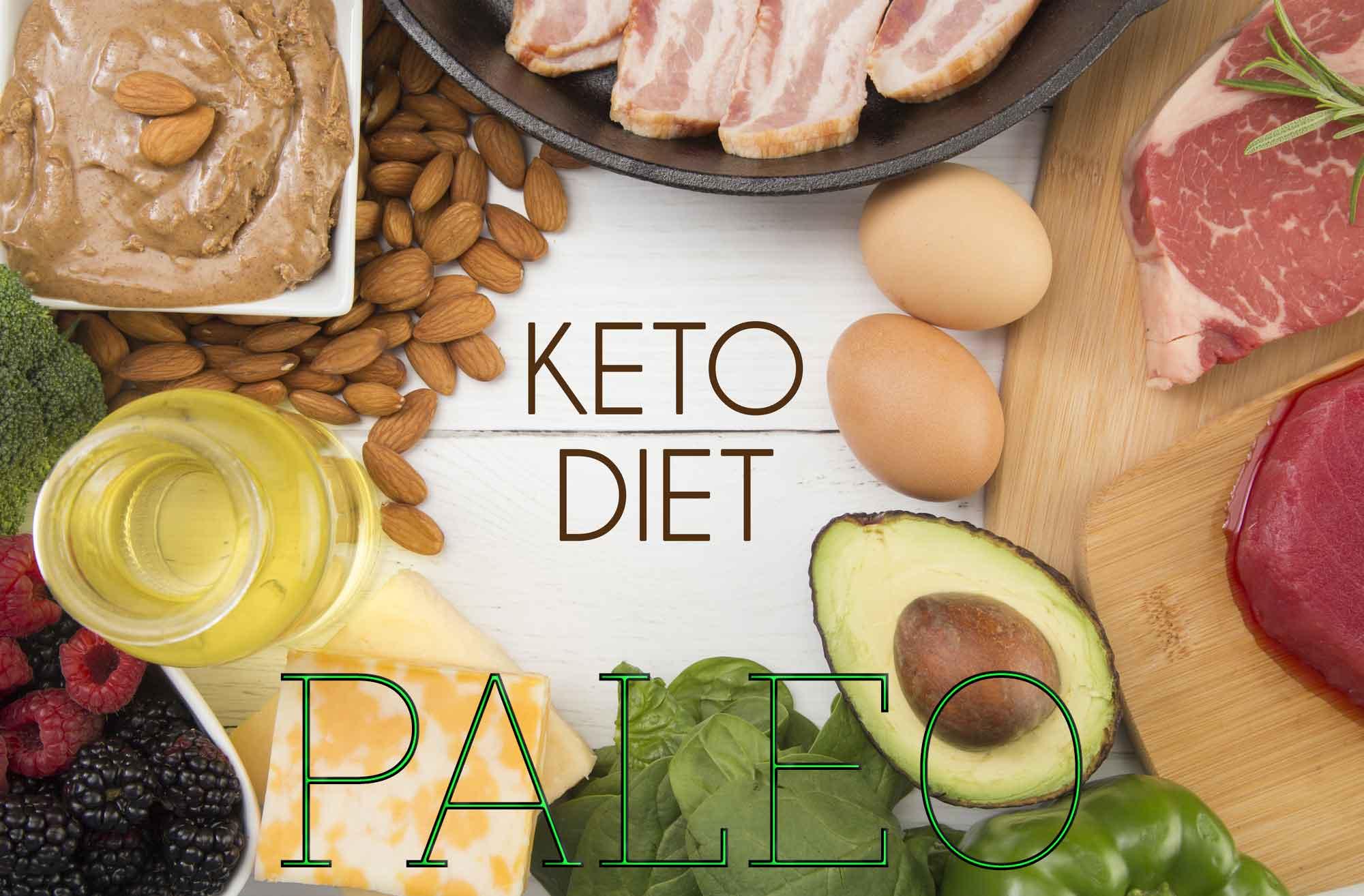 Keto-friendly and Paleo-friendly foods