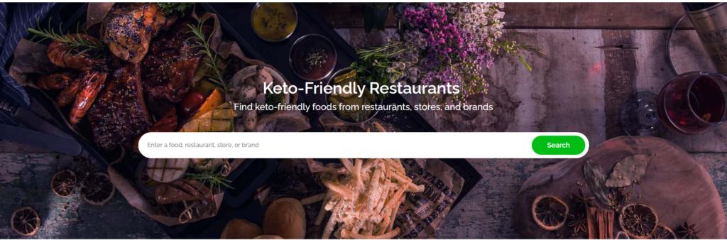 Ketofoodist.com home page