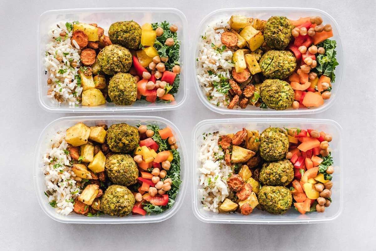 4 meal prep meals