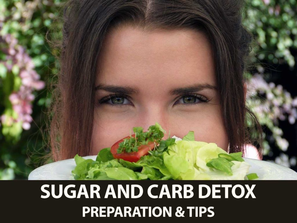 Tips to prepare for a sugar and carb detox; starting the keto diet.